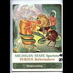 1966 Michigan State vs Purdue College Football Program