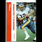 1976 Oregon State vs Cal Bears College Football Program