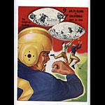 1950 Santa Clara vs Cal Bears College Football Program