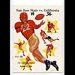 1953 San Jose State vs Cal Bears College Football Program
