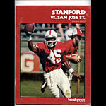 1979 Stanford vs San Jose State College Football Program