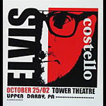 Pete Cardoso Elvis Costello Poster