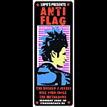 Pete Cardoso Anti Flag Poster