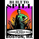 Pete Cardoso Built to Spill Poster