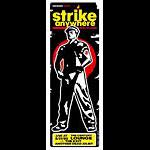 Pete Cardoso Strike Anywhere Poster