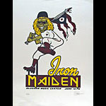 Sean Carroll Iron Maiden Poster