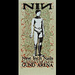 Sean Carroll Nine Inch Nails Poster