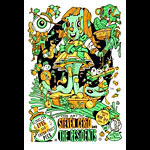 Steve Cerio The Art of Steven Cerio featuring The Residents Poster