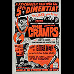 Art Chantry The Cramps Poster