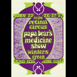 Steve Seymour Papa Bear's Medicine Show Postcard