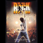 We Will Rock You - The Musical by Queen and Ben Elton Concert Program