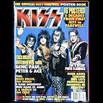 KISS Farewell Poster Book Music Magazine
