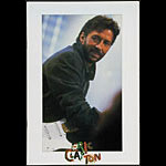 Eric Clapton - Behind The Sun Tour 1985 Program