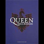 Queen and Paul Rodgers 2005 European Tour Concert Program