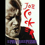 Joe Cocker 1990 Power and Passion Tour Concert Program