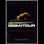 Gigantour Megadeth 2005 North America Tour Program