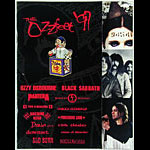 Ozzfest 1997 Black Sabbath Program