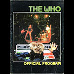 1982 The Who It's Hard Concert Program