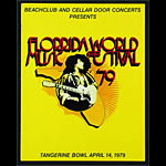 Florrida World Music Festival 1979 Concert Program