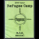 Fugees 1997 Tour Concert Program