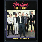 Huey Lewis 1986 World Tour Concert Program