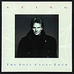 Sting 1991 Soul Cages Tour Concert Program