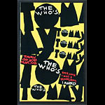 The Who 1993 Tommy Broadway Program