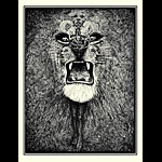Lee Conklin Santana Lion Art Print
