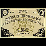 Jared Connor Queens Of The Stone Age Poster
