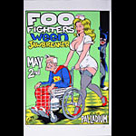 Coop Foo Fighters Ween Poster