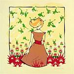 Cricket Press Falling Frogs Art Print