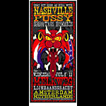 Jason Cooper and Jeff Wood - Drowning Creek Nashville Pussy Handbill