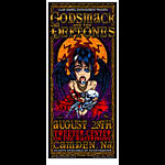 Johnny Thief and Jeff Wood - Drowning Creek Studio Godsmack Handbill