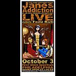 David Crosland and Jeff Wood - DrowningCreek Jane's Addiction Poster
