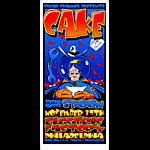 Jeff Wood and Dave Crosland - Drowning Creek Cake Handbill