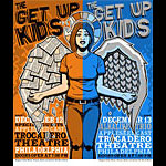 Jason Goad and Jeff Wood - Drowning Creek The Get Up Kids Set of 2 Handbills