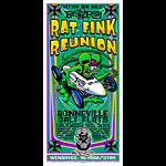Johnny Ace and Jeff Wood - Drowning Creek Ed Roth's Rat Fink Reunion Poster