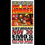 Jeff Wood - Drowning Creek Nine Pound Hammer Handbill