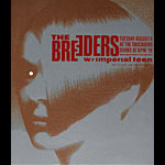 Art Chantry - Drowning Creek The Breeders Poster