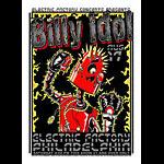 Mike Fisher and Jeff Wood - Drowning Creek Billy Idol Poster