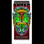 Jeral Tidwell and Jeff Wood - Drowning Creek Widespread Panic Poster