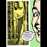 Art Chantry and Jeff Wood - Drowning Creek Sleater-Kinney Poster