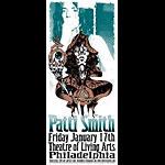 Jeff Wood and Johnny Thief - Drowning Creek Patti Smith Handbill