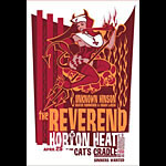 Andrew Bawidamann - Drowning Creek Reverend Horton Heat Poster