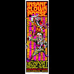 Mike Martin Johnny Thief and Jeff Wood - Low Brow Ink Insane Clown Posse Poster