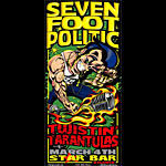 Jeff Wood Mike Martin and Johnny Thief - Drowning Creek Seven Foot Politic Poster