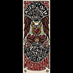 Jeff Wood - Drowning Creek Allman Brothers Poster