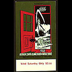 Randy Tuten Randy Tuten BG154 Grateful Dead 1971 Fillmore Ticket