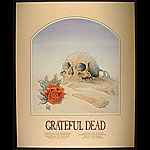 Mouse Original 1st Printing 1981 Grateful Dead European Tour  Poster