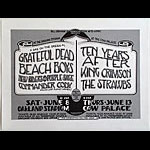 Randy Tuten Grateful Dead Beach Boys Day on the Green Poster